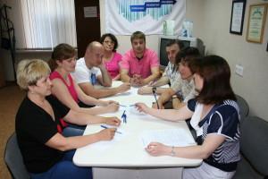На заседании ТИК Кольцово 18 июня.