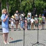 В День памяти и скорби ко Древу жизни в Кольцово вышли немногие