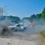 Кольцовские спасатели проверили навыки на учениях