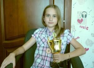 """Софья Плаксина -- обладательница """"Кубка Алтая""""."""