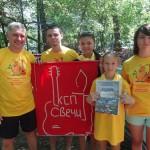 Кольцовцы побывали на Грушинском фестивале