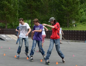 На Дне молодежи -- 2013 в парке Кольцово.