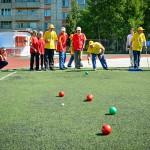 В Кольцово прошел спортивный праздник «Будь здоров»