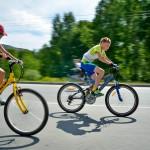 В Кольцово прошел спортивный праздник для детей «Большие гонки-2014»