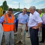 Кольцово посетил с визитом министр транспорта
