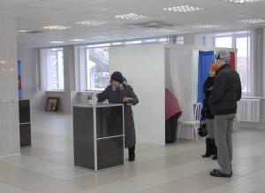 Выборы в Кольцово.