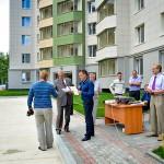 Кольцовские строители отметили профессиональный праздник