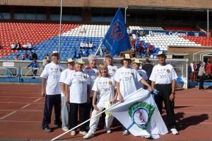 Участники кольцовской команды -- обладатели золотых значков ГТО.