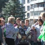 В Кольцово состоялся субботник «Зеленая Россия»