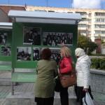 Открылась уличная выставка «Кольцово: от первых строительных колышков»