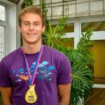 Кольцовский пловец завоевал серебряную медаль на чемпионате мира