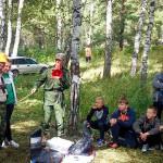 Кольцовские спасатели провели уроки безопасности на «робинзонаде»
