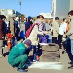 Предновогодняя акция «Зеленой белки» пройдет в Кольцово 17 декабря