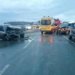 В ДТП на трассе Кольцово-Академгородок пострадали дети