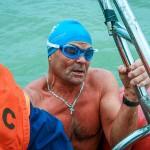 Кольцовский «морж» совершил марафонский заплыв по Оби