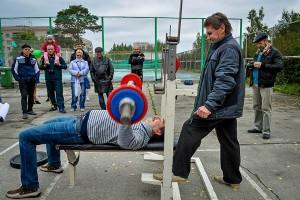 В турнире, посвященном юбилею Кольцово, принял участие министр культуры НСО Василий Кузин.