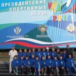 На «Президентских спортивных играх» кольцовская команда заняла 12 место