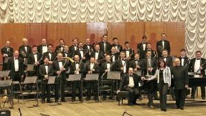 Концертный духовой оркестр.