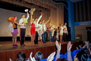 """Финалисты """"Звезда паркета-2014"""" в Кольцово."""