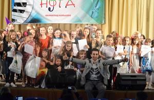 """Участники младшей возрастной категории конкурса """"Нота""""."""