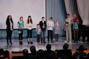 Юные лыжники получили награды из рук Екатерины Илюхиной.