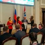 Шести юным жителям Кольцово вручили паспорта РФ в День Конституции