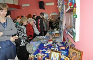 Выставка, посвященная Рождеству.