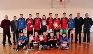 Спортивный класс школы №5 -- победитель областных соревнований по ОФП.