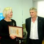 Директора кольцовской компании поздравили с юбилеем