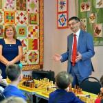 В Кольцово проходит шахматный мемориал академика Льва Сандахчиева