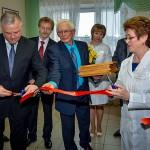 Прошло торжественное открытие трех отделений кольцовской больницы