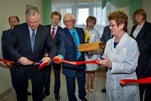Церемония открытия отделения паллиативной помощи.