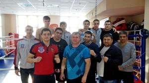 """Участники """"Открытого ринга"""" из Кольцово."""
