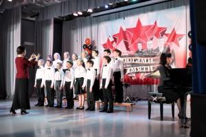 Младший хор Детской школы искусств Кольцово.