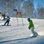 8 марта наукоград встал на горные лыжи и сноуборды