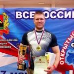 Кольцовский пауэрлифтер одержал победу на чемпионате СФО