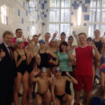 Мэр наукограда Кольцово встретился с пловцами в бассейне