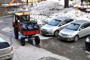 Субботник-трактор
