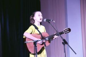 Юлия Семенова -- лауреат международного фестиваля авторской песни «Глория».