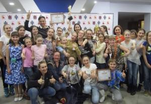 """""""Задоринки"""" на конкурсе «Серебряная Россия. Новосибирск»."""