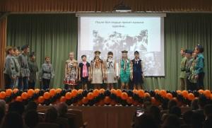 На конкурс военной песни школьники пригласили ветеранов.