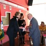 Кольцовским ветеранам войны вручили юбилейные медали