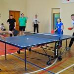 Участники «Президентских спортивных игр» в Кольцово встали за теннисные столы