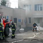 В Кольцово прошли тренировки по ликвидации чрезвычайных ситуаций