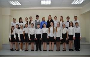 Детский академический хор ДШИ.