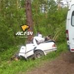 У переезда в Кольцово произошла страшная авария
