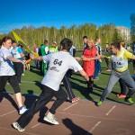 В Кольцово прошли эстафеты «Победе-70»