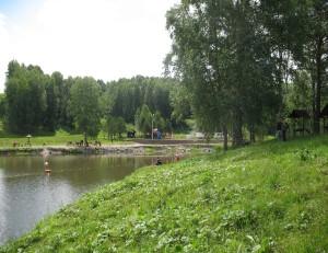 Парк Кольцово весной.