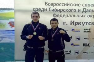 Михаил Сартаков и Никита Минькин на чемпионате и первенстве в Иркутске.