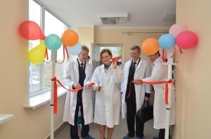 Торжественное открытие участка по производству коревой вакцины.